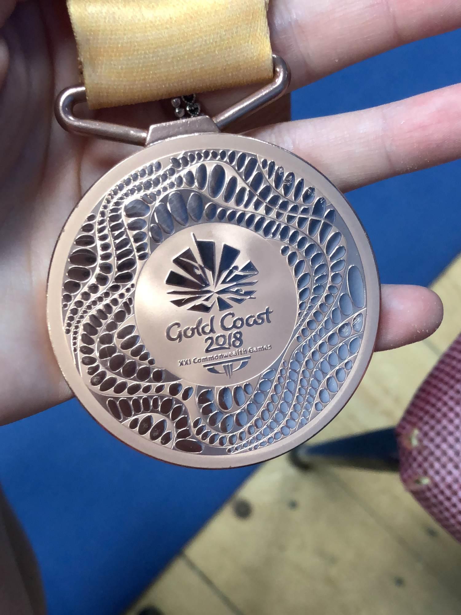 Denise Payet bronze medal