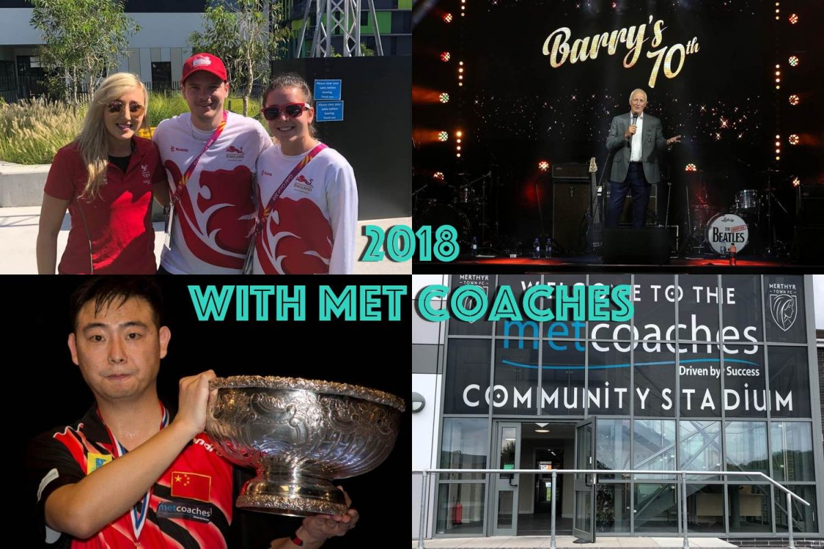 2018 with MET Coaches