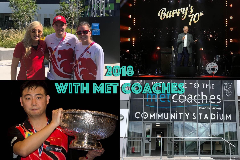 2018 with MET Coaches