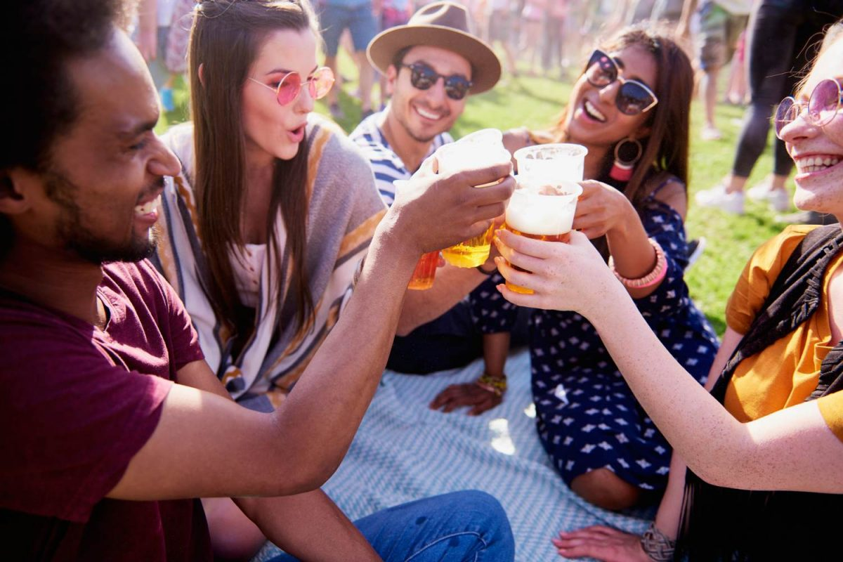 People drinking beer - 3 things to do in September
