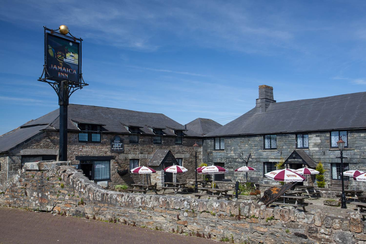 Jamaica Inn in Cornwall, England