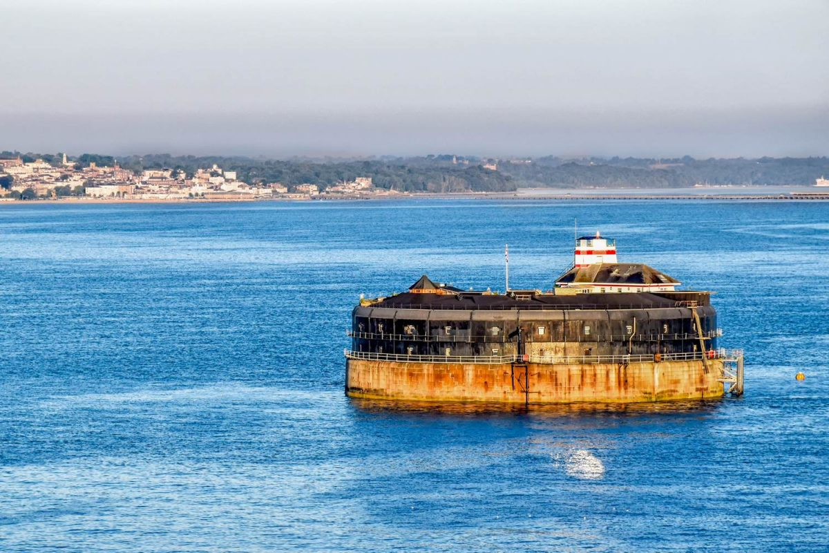 No Man's Fort, Solent, England