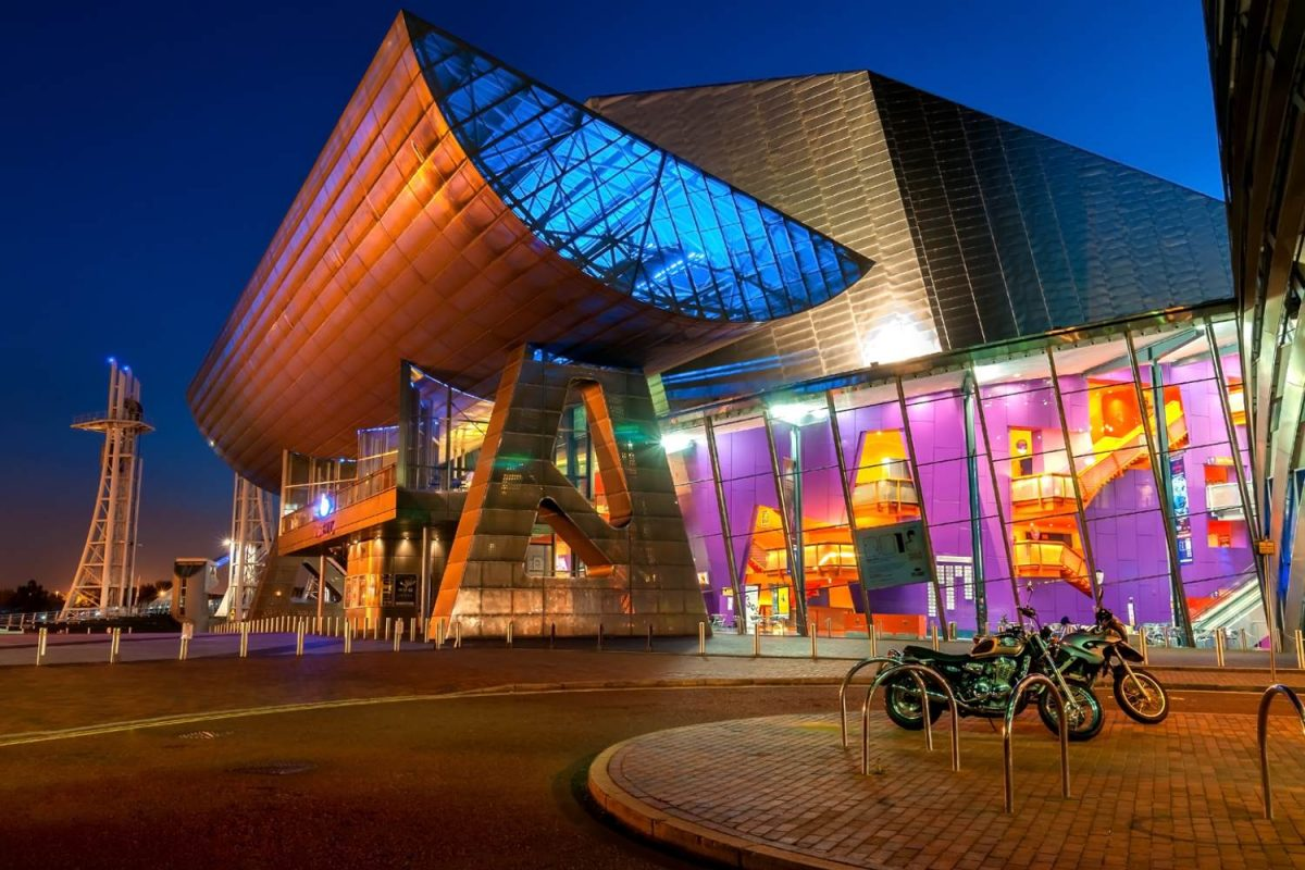 The Lowry, Manchester, England, UK - Top 3 things to do in Manchester