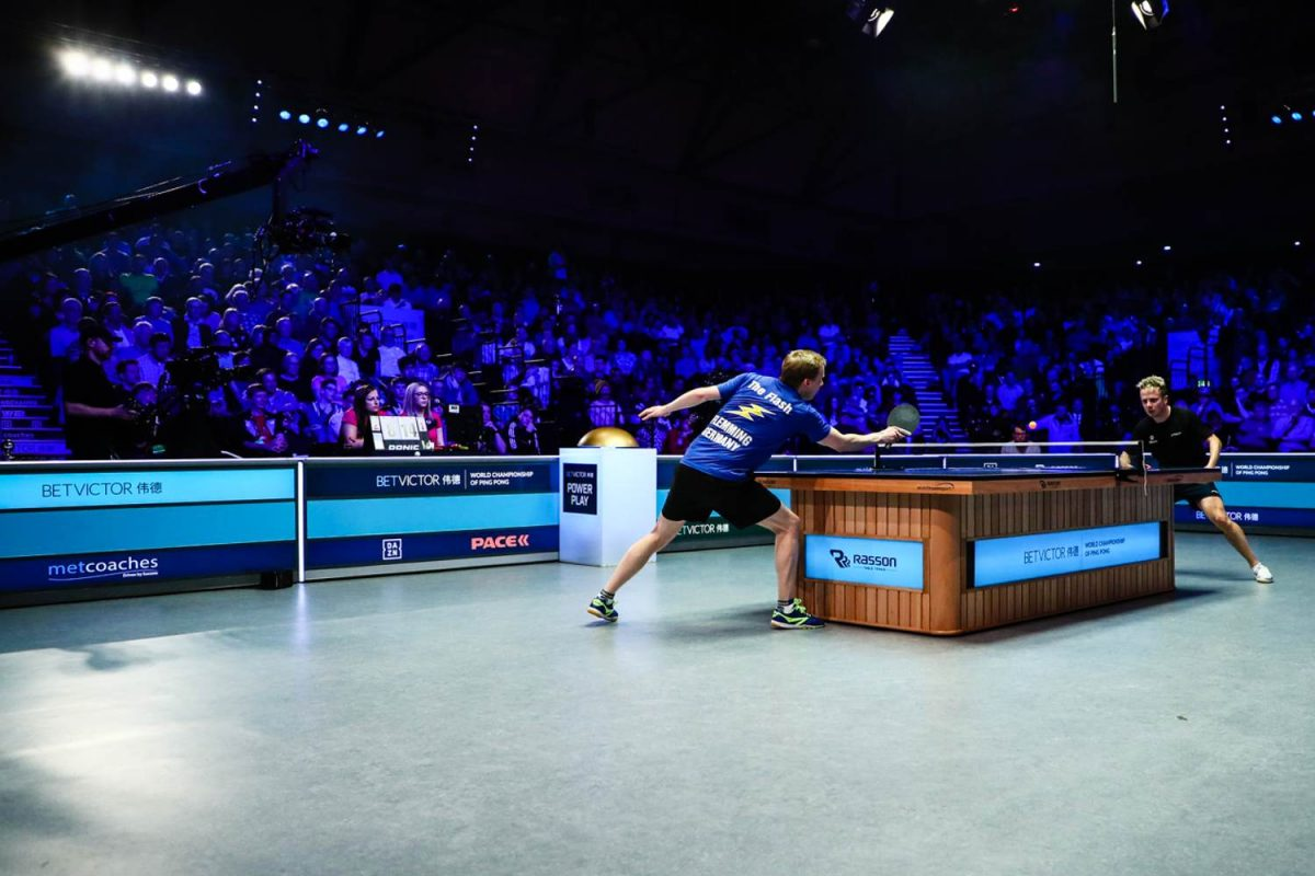 BETVictor ping pong finals